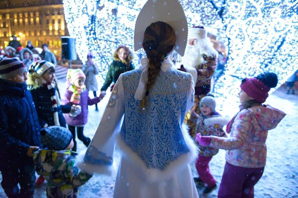 Зимние фестивали в москве