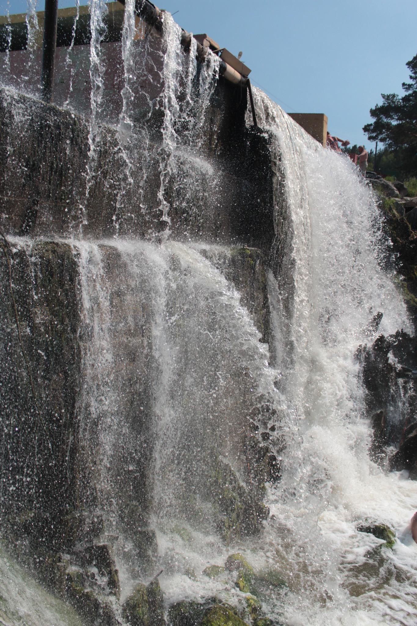может карпысак водопад фото зимой название чаще